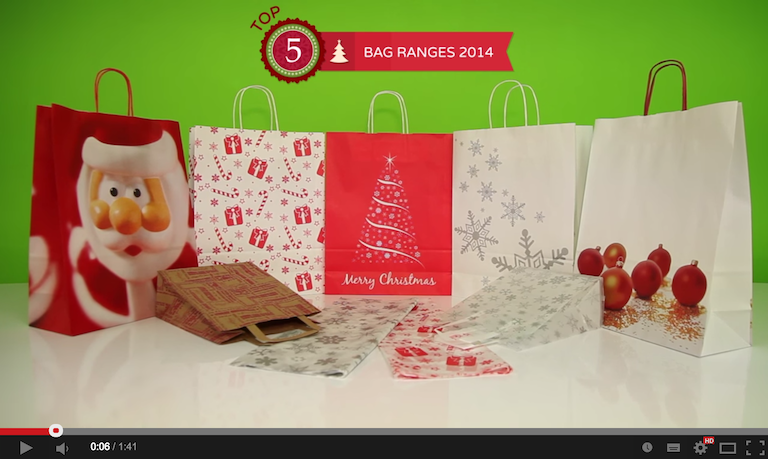 Christmas Carrier Bags Top 5