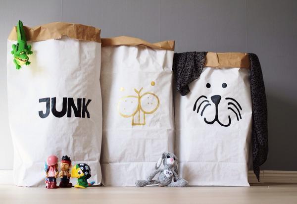 Junk Paper Bag