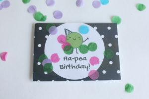 Birthday Card Confetti 2