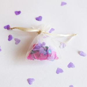 Wedding Confetti in Organza Bag 1