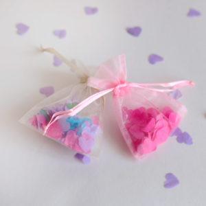 Wedding Confetti in Organza Bag 2