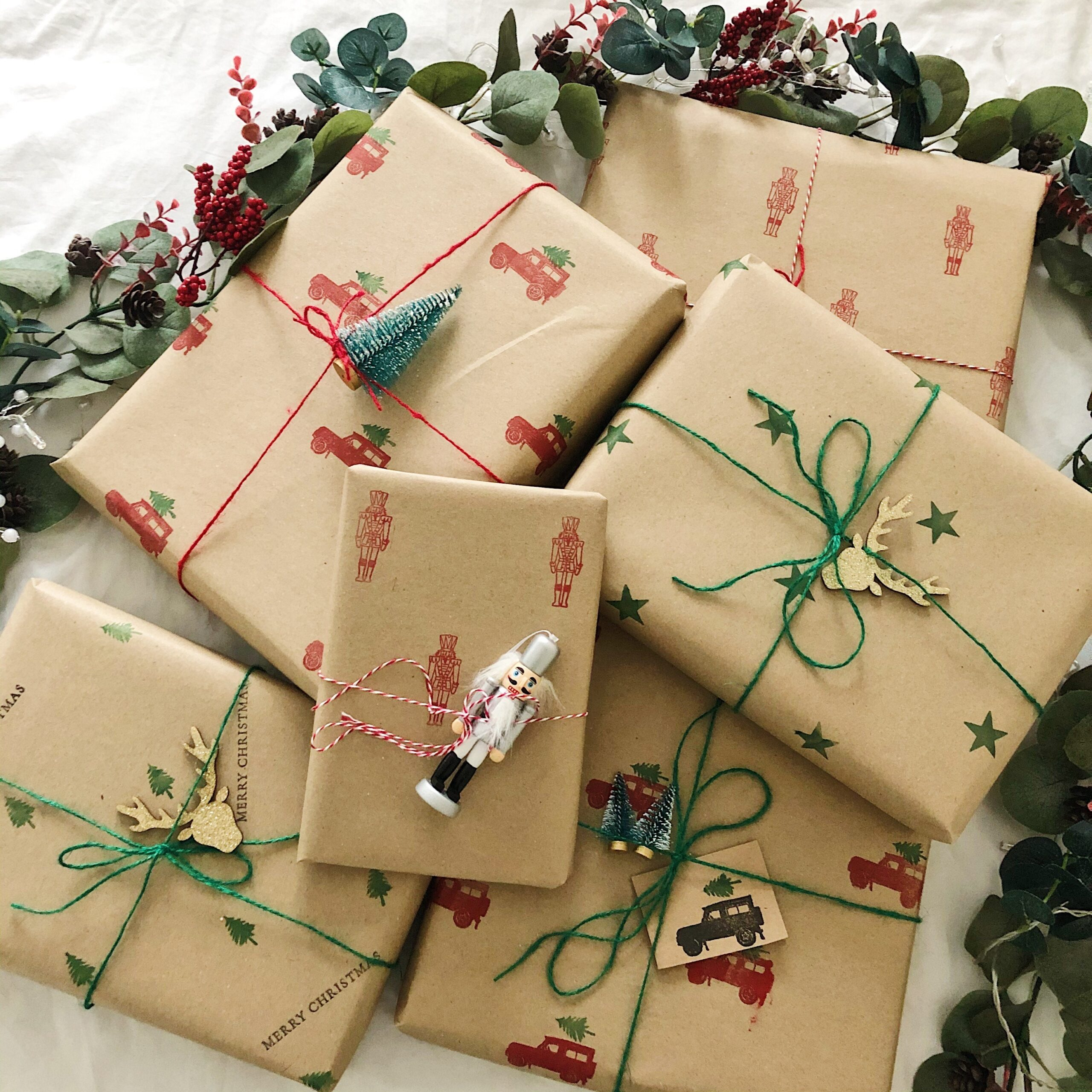 Kraft Christmas Paper